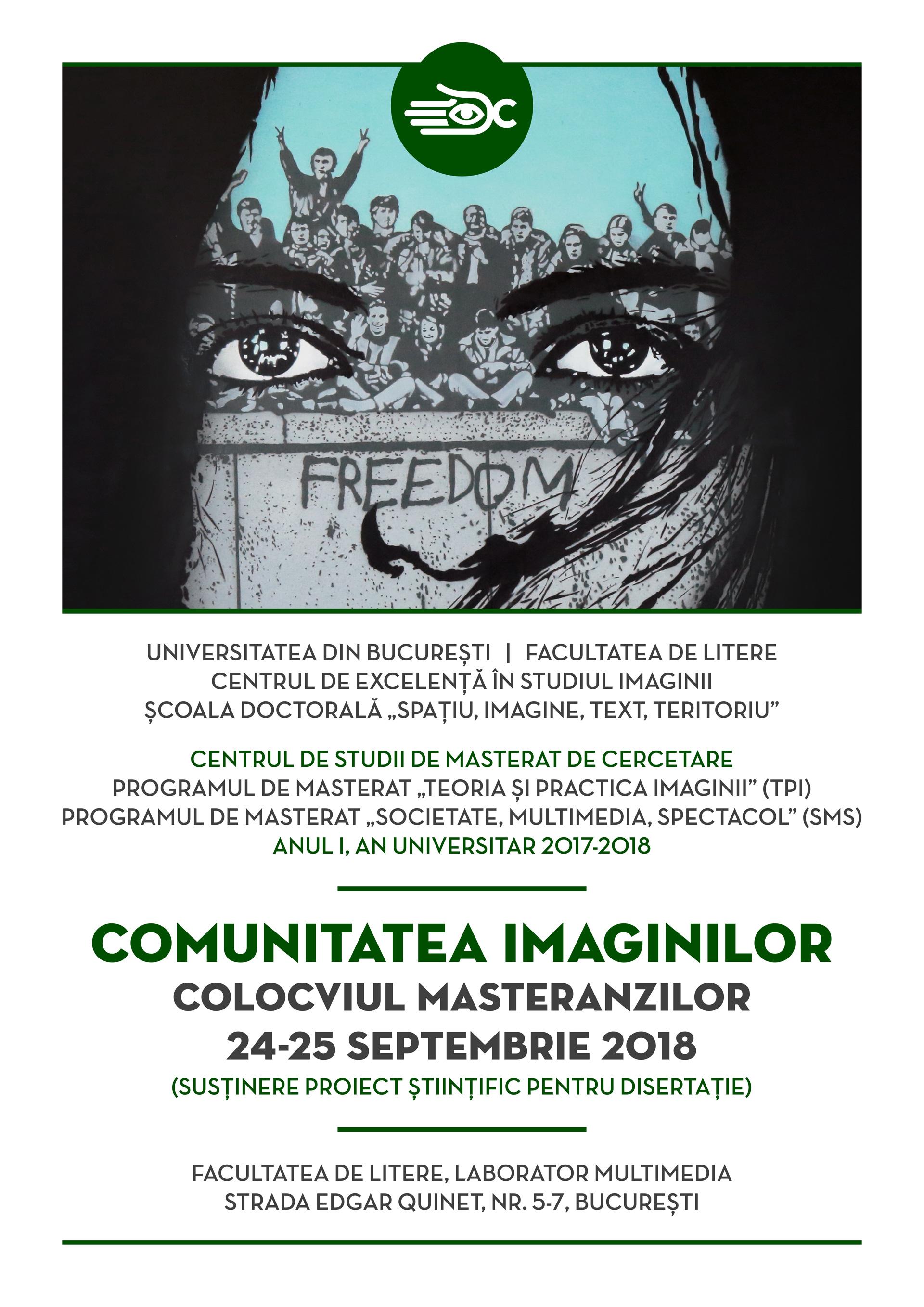 AFIS online, Colocviu MASTERANZI, sept 2018