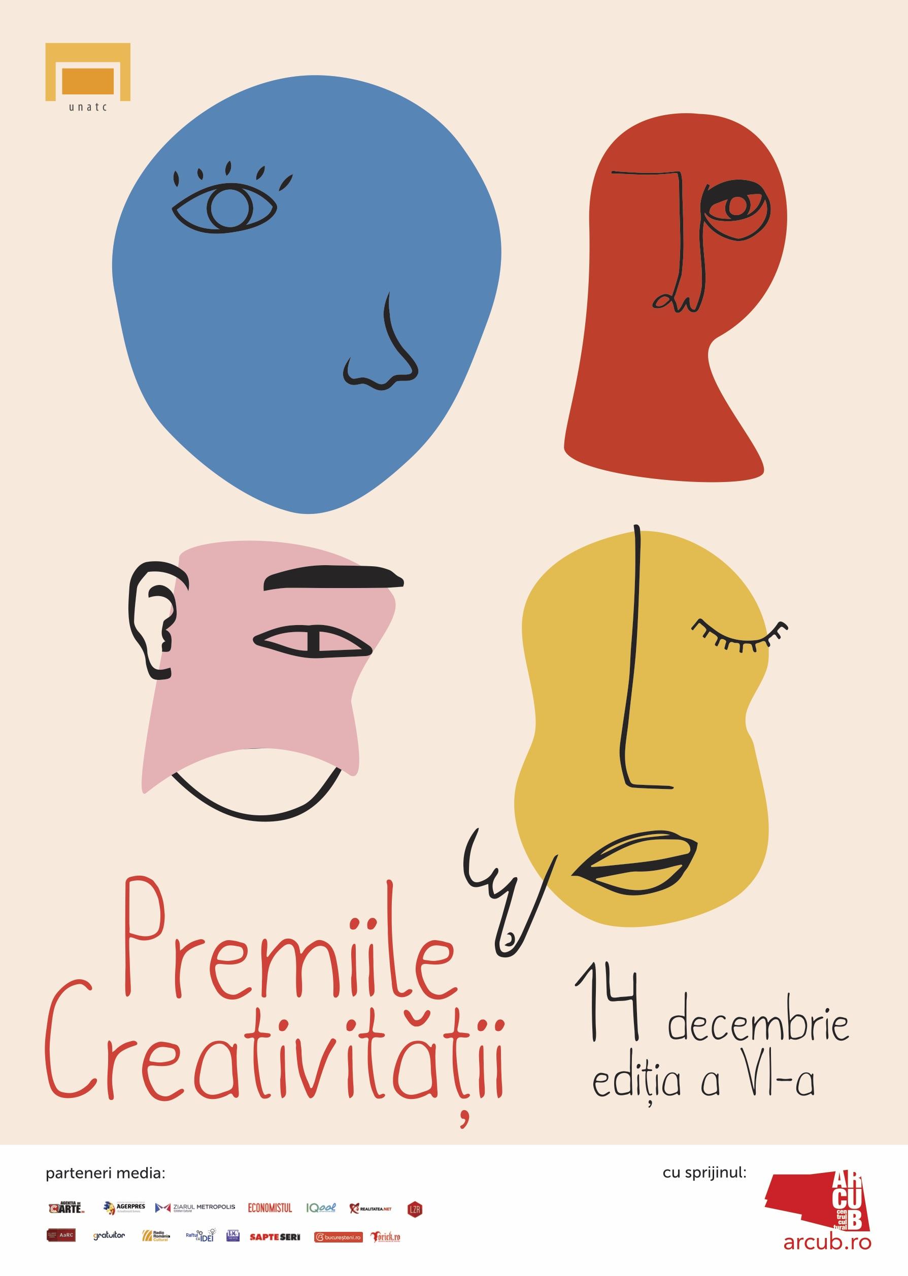 Premiile Creativitatii 2018 - afis