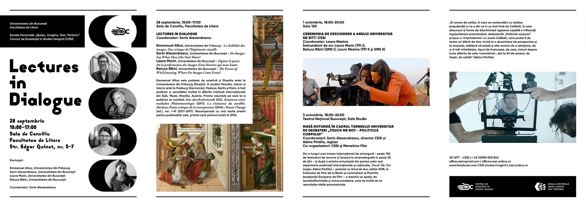 PROGRAM online, Lectures in Dialogue