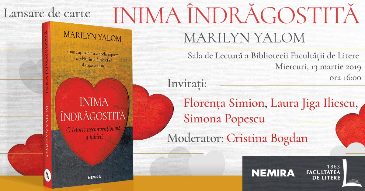 Inima îndrăgostită, lansare de carte și dezbatere